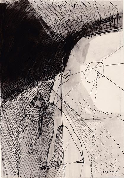 Kolner Serie  # 17, 1972 - Maria Bozoky