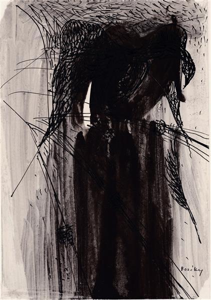 Kolner Serie  # 20, 1972 - Maria Bozoky
