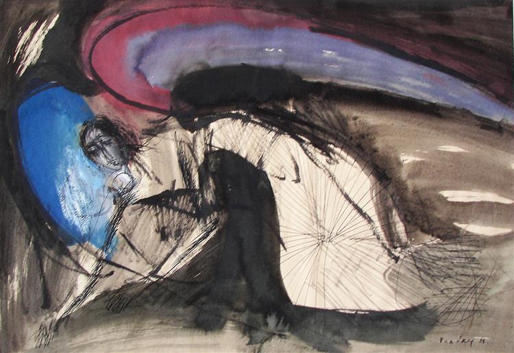 Gathering Angel, 1976 - Maria Bozoky