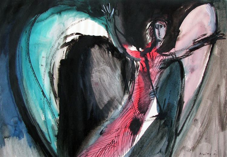 Apocalyptic Angel - Maria Bozoky