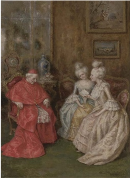 His Eminence Resting - Angelo Zoffoli