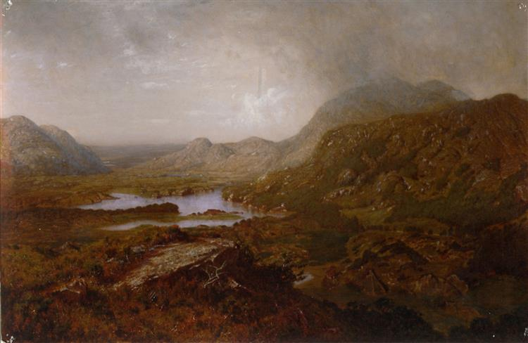 Lake of Killarny, 1880 - Alexander Helwig Wyant