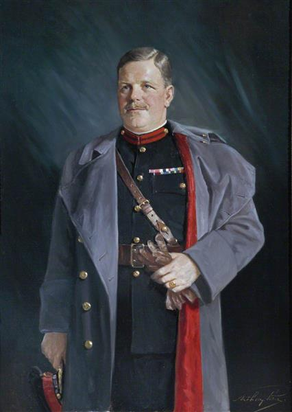 Colonel (later Brigadier Sir) John Kinninmont Dunlop, Assistant Adjutant General of the Territorial Army, c.1937 - Arthur Pan