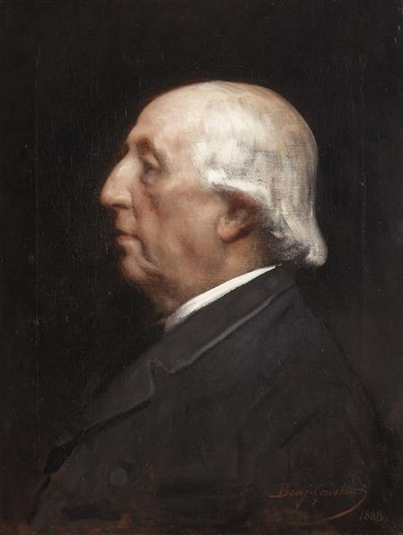 Portrait of Emmanuel Arago, 1888 - Жан-Жозеф Бенжамен-Констан