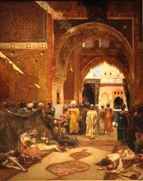 Le Lendemain d'une Victoire À L'alhambra - Benjamin Constant