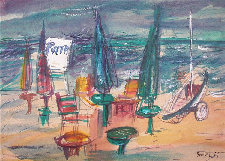 Still Life at the Beach, c.1981 - Maria Bozoky
