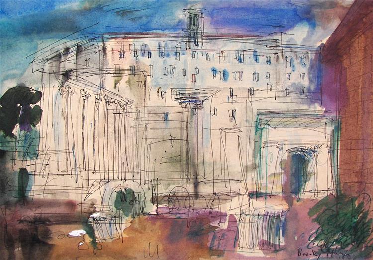 Antiquities in Rome, c.1981 - Maria Bozoky