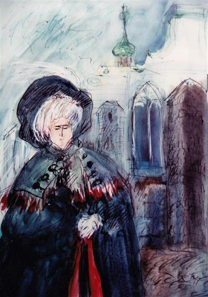 Baroque and Gothic, c.1994 - Maria Bozoky