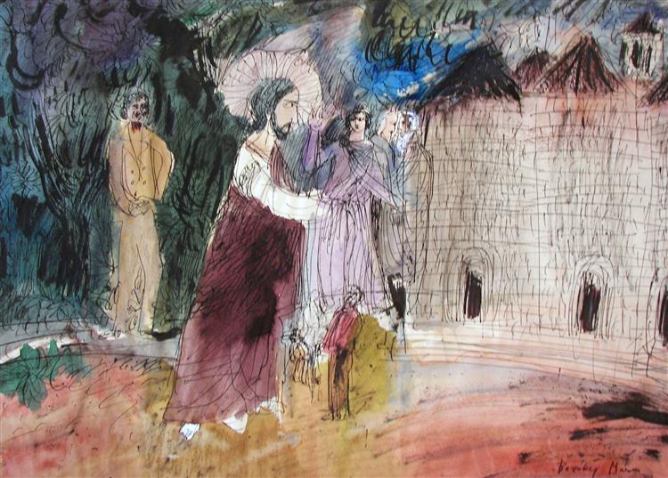 Hommage à Giotto, 1977 - Maria Bozoky