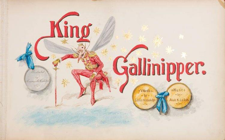 Cover to King Gallinippe - Cassius Marcellus Coolidge