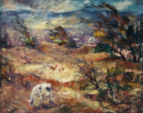 Hillside, 1953 - Rudolf Láng