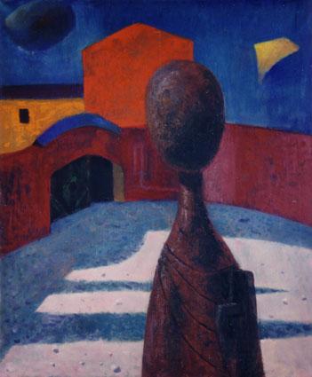 Castle Courtyard, 1961 - Rudolf LÁNG
