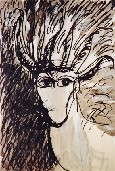 The Revelation of St. John (V.6.), 1985 - Maria Bozoky