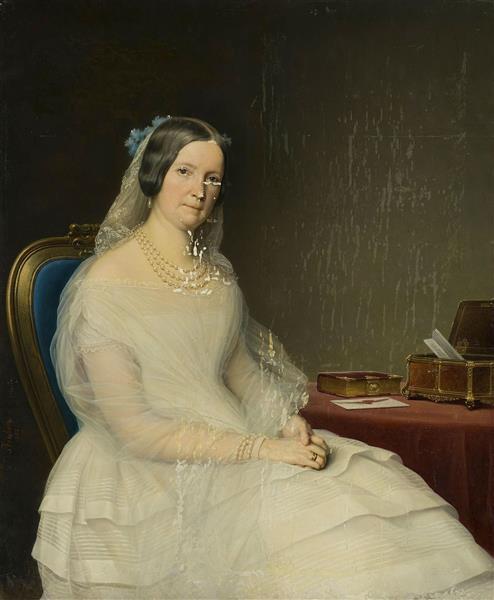 Julia Stroganova, 1848 - Charles de Steuben