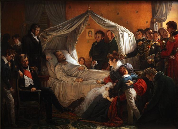Death of Napoléon - Charles de Steuben