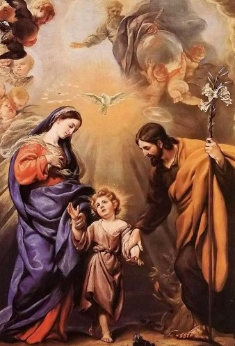 Holy Family - Claudio Coello