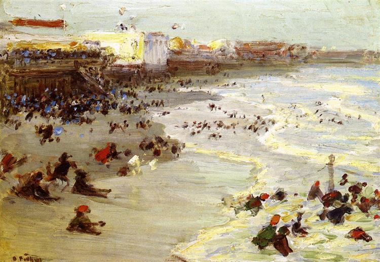 Coney Island - Edward Henry Potthast