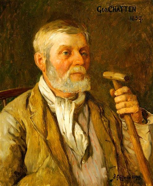 George Chatten, 1899 - Frederick George Cotman