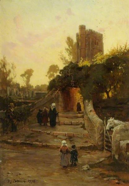 Sunday Morning, 1879 - Frederick George Cotman