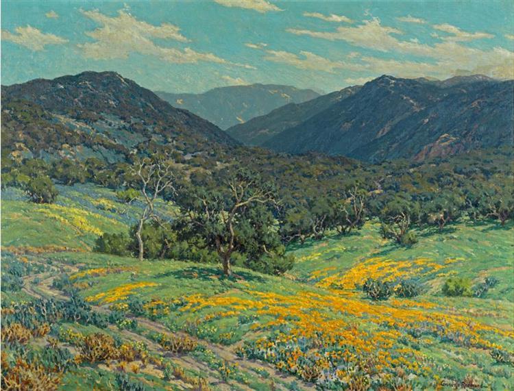 Spring in Southern California by Granville Redmond, 1931 - Granville Redmond
