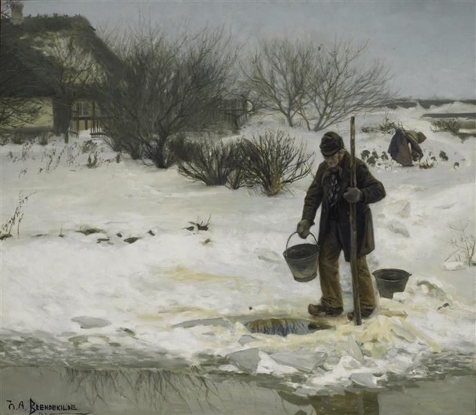 Tøsne, 1894 - Hans Andersen Brendekilde