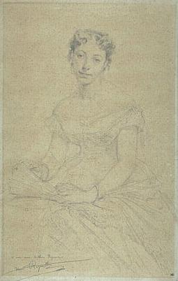 Mme Arthur Fouques Duparc, Née Léonie Louvancour, 1867 - Henri Regnault