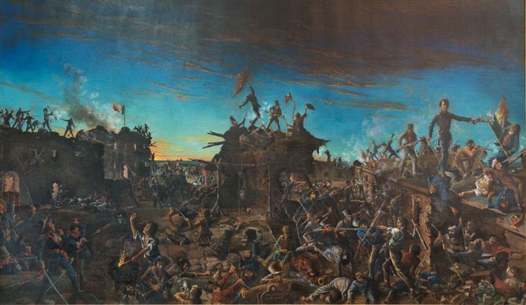 Dawn at the Alamo, 1905 - Henry Arthur McArdle