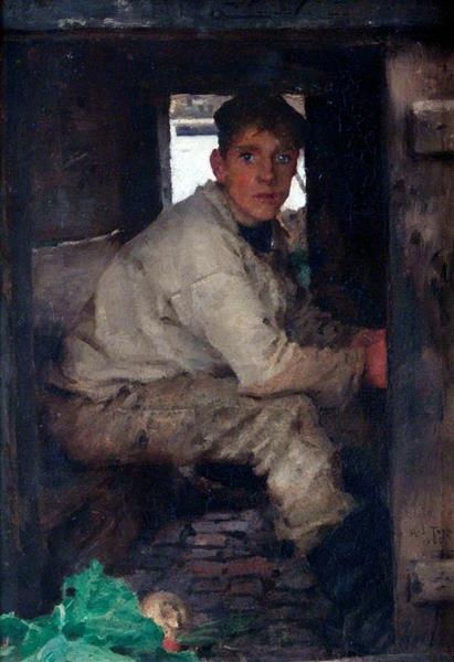 Cabin Boy - Henry Scott Tuke