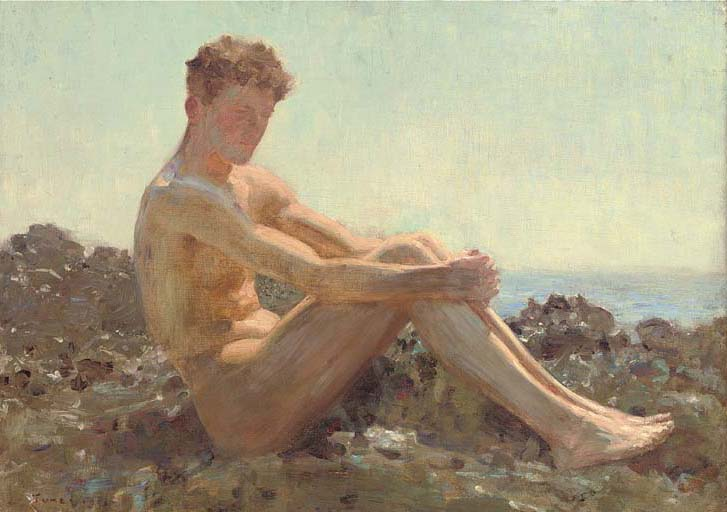 The Sun-bather, 1911 - Henry Scott Tuke