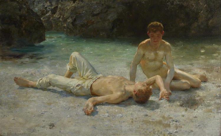 Noonday Heat, 1901 - Henry Scott Tuke