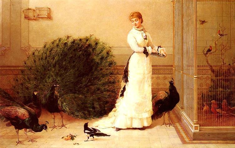 The Aviary, 1877 - Хейвуд Гарди