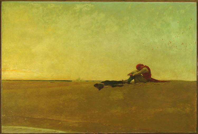 Marooned, 1909 - Howard Pyle