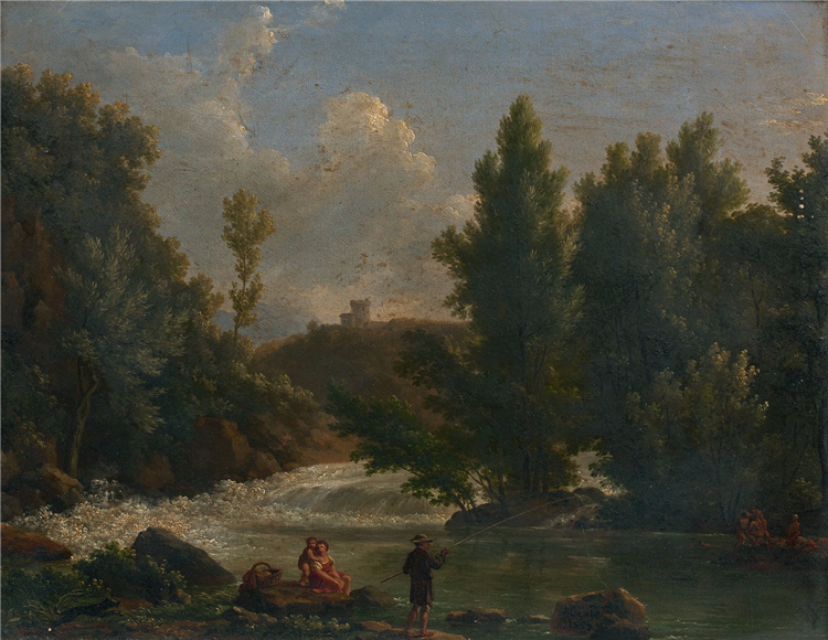 Huile Sur Toile, 1828 - Jean-Joseph-Xavier Bidauld