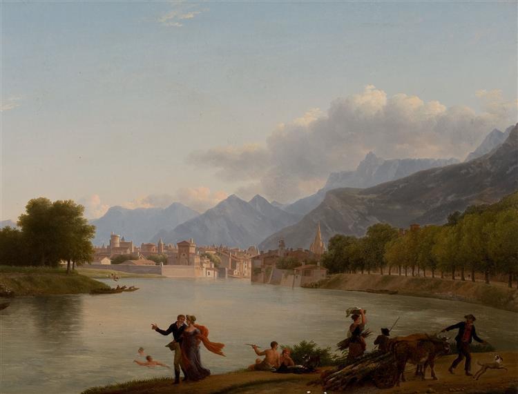 Grenoble, c.1790 - Jean-Joseph-Xavier Bidauld