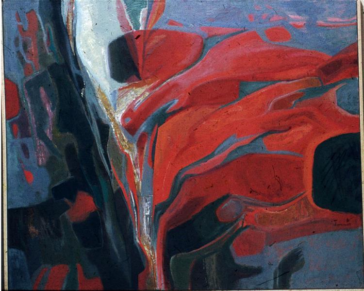 Curbed Darkness, 1970 - Ervin Tamas