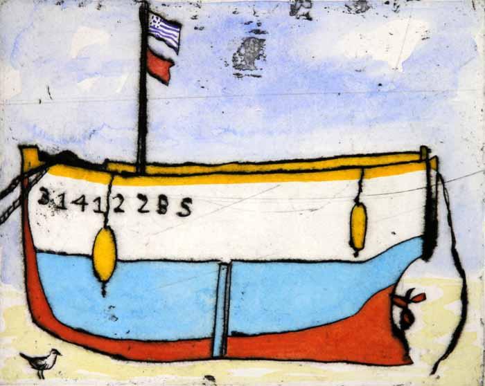 Breton Boat, 2011 - Richard Spare