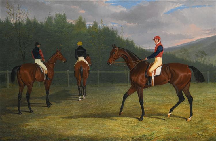The Start of the Goodwood Gold Cup, 1832 - John Frederick Herring senior