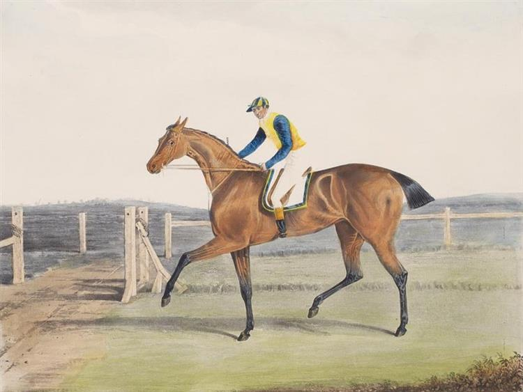 British Racehorse the Duchess, c.1816 - John Frederick Herring Sr.