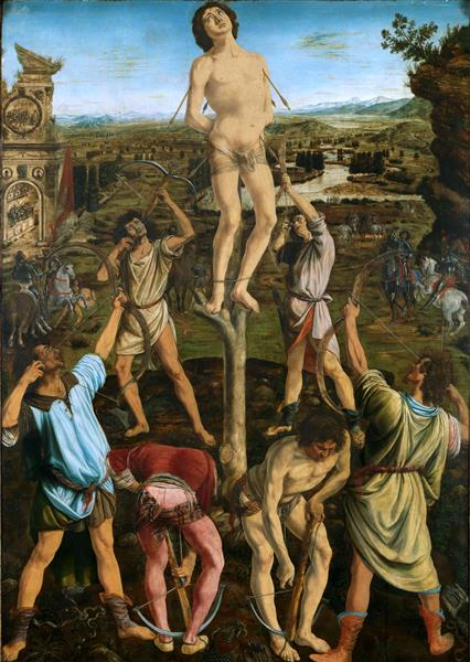 The Martirydom of Saint Sebastian, 1475 - Antonio del Pollaiolo