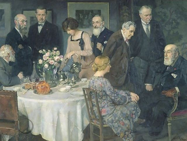 A Group of Artists, 1929 - Jules-Alexandre Grun