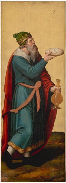Melquisedec, Rey De Salem, 1545 - 1550 - Vicente Juan Masip