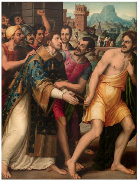 San Esteban Conducido Al Martirio, 1555 - 1562 - Vicente Juan Masip