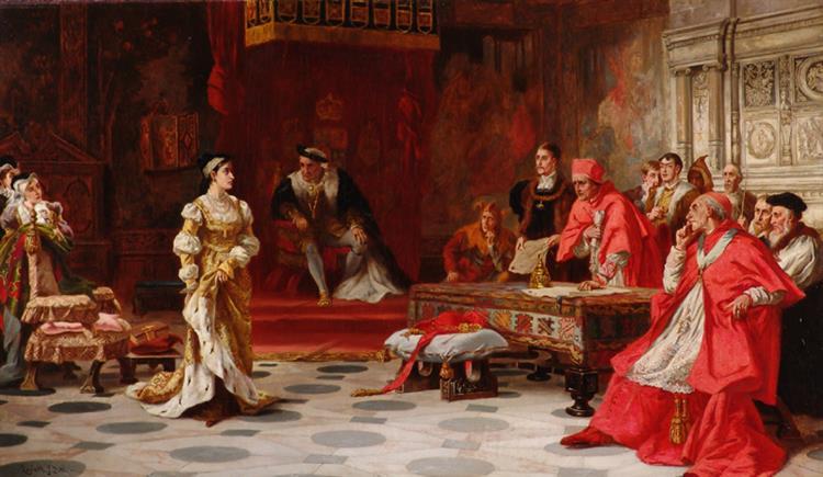 Katherine of Aragon Denounced Before King Henry Viii and His Council - Laslett John Pott