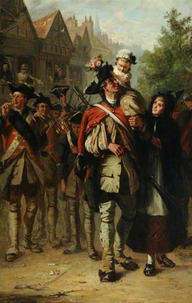 The Return of the Victors, 1869 - Laslett John Pott