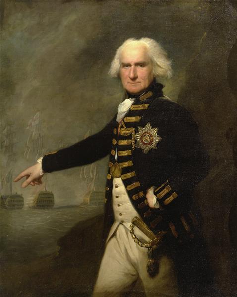 Admiral Lord Bridport - Lemuel Francis Abbott
