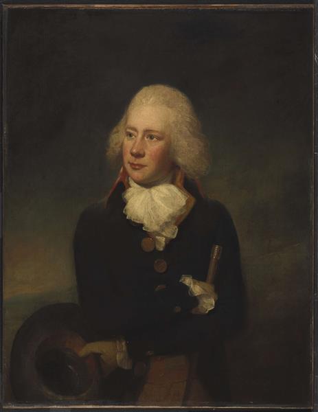 Portrait of a Man - Lemuel Francis Abbott