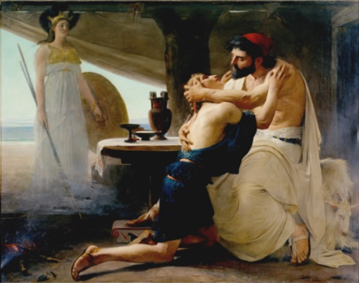 Ulysse Et Télémaque, 1880 - Lionel Noel Royer