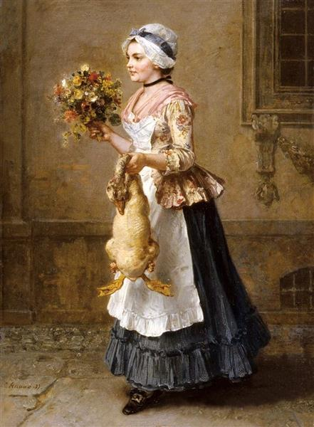 Glückwünsche, 1877 - Людвиг Кнаус