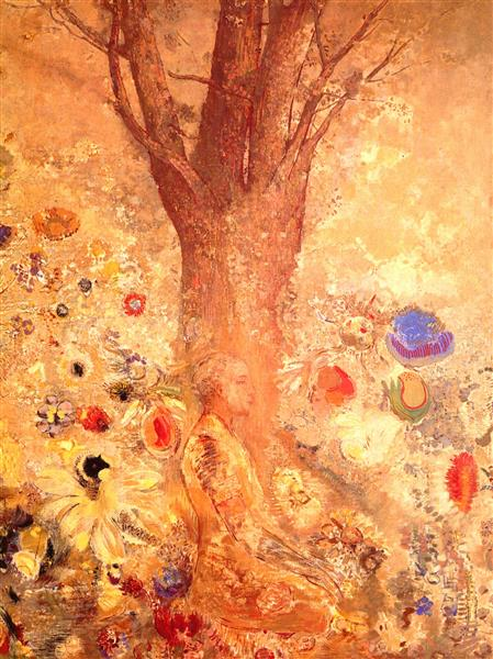 Buddha in His Youth - Odilon Redon