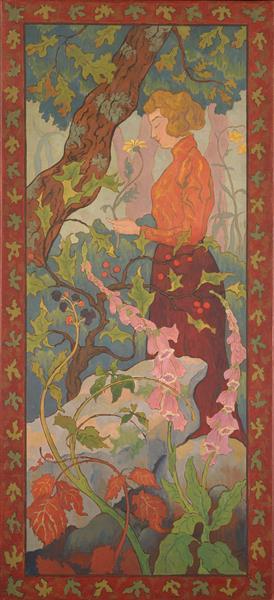 Digitales, 1899 - Paul Ranson